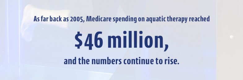 Medicare spending on aquatic therapy