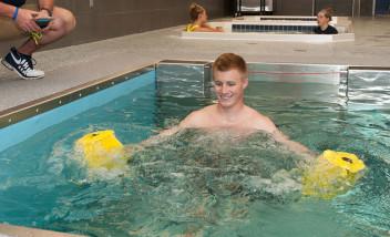 Underwater weight training