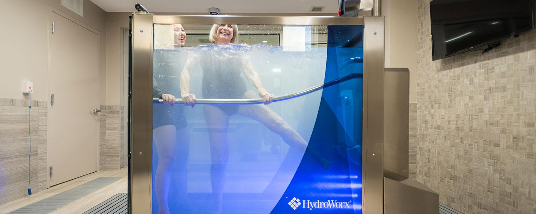 Portable Above Ground Aquatic Treadmill Hydroworx 174 300