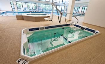 Indoor HydroWorx pool