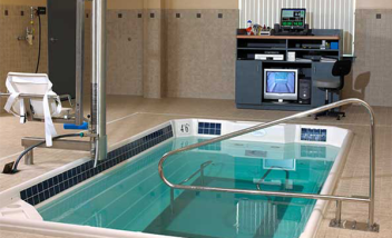HydroWorx training pool setup