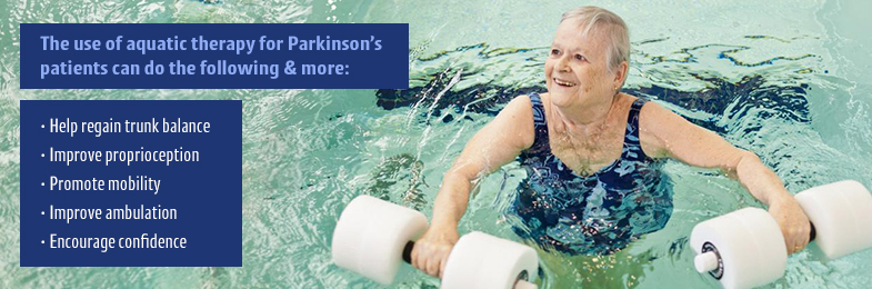 parkinsons aquatic therapy benefits
