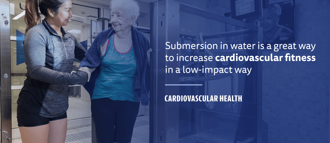 how water submersion helps increase cardiovascular fitness