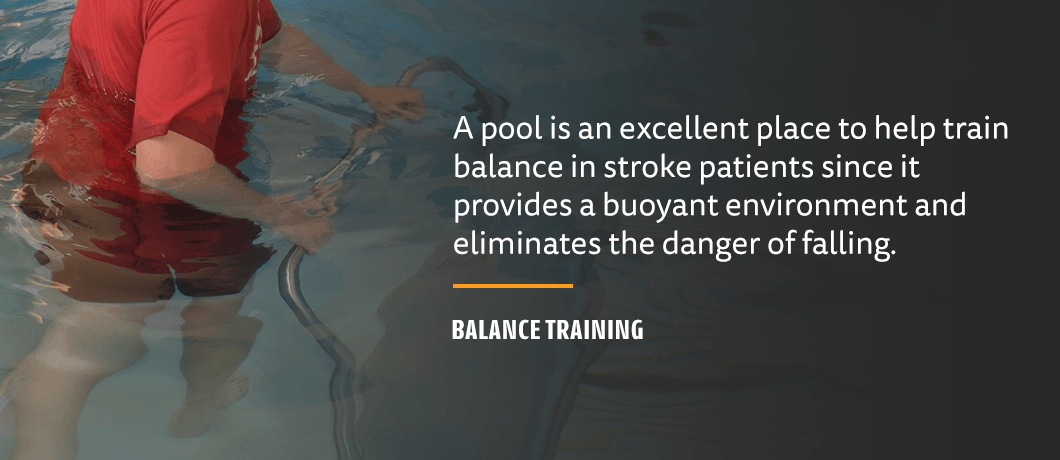 balance training for stroke recovery